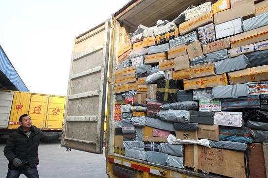 Почта Китая, посылки из Китая объем посылок резко возрос