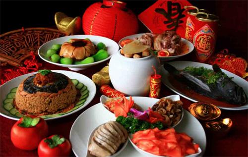 Китайский новый год традиционная еда