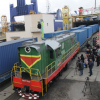 поезд Украина - Китай