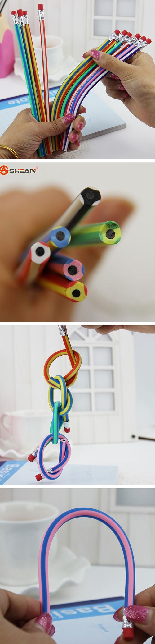 Прикольные мягкие карандаши для школы