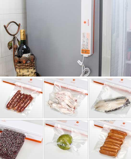 Вакууматор пищевой пленочный упаковщик купить на кухню на Алиэкспресс
