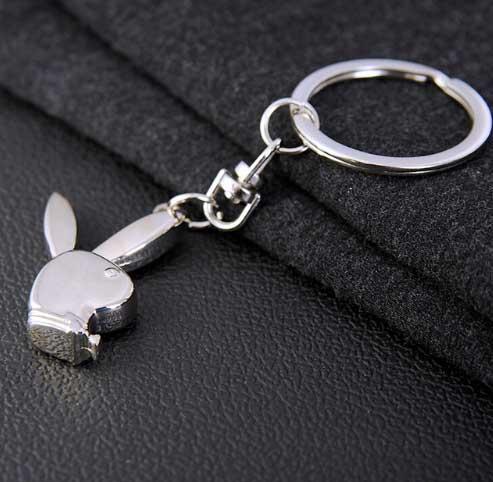 Брелок для ключей ПлейбойPlayboy keychain key ring