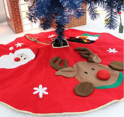 Коврик юбка под елку для подарков