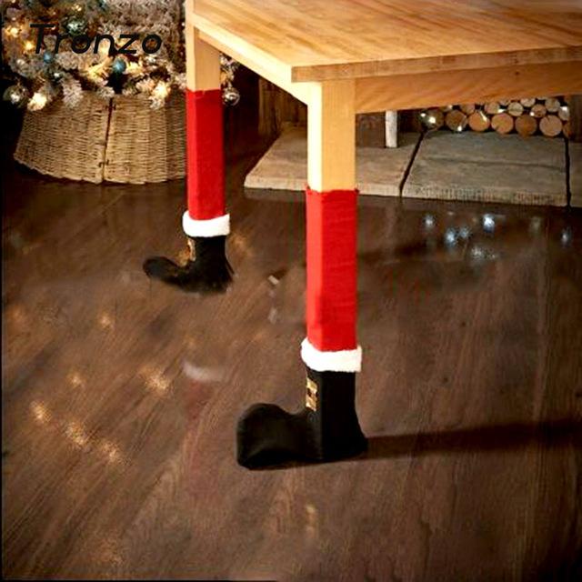 Аксессуары на Новый год и Рождество Носочки Санта Клауса