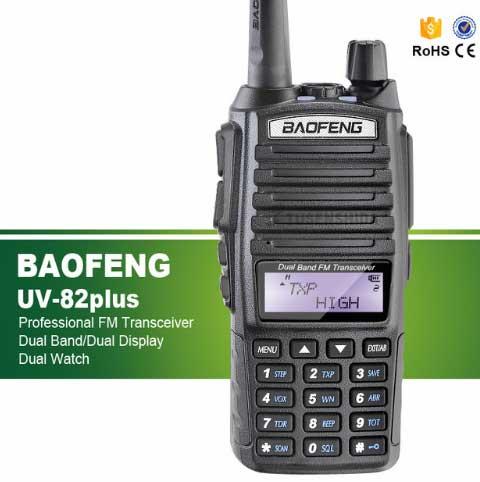 8 Вт Max дальний двухстороннее Радио сканер передачи полиция пожарная спасения Dual Band ham Двухканальные рации uv-82plus