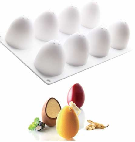3D Пасхальные Яйца Силиконовые формы для выпечки