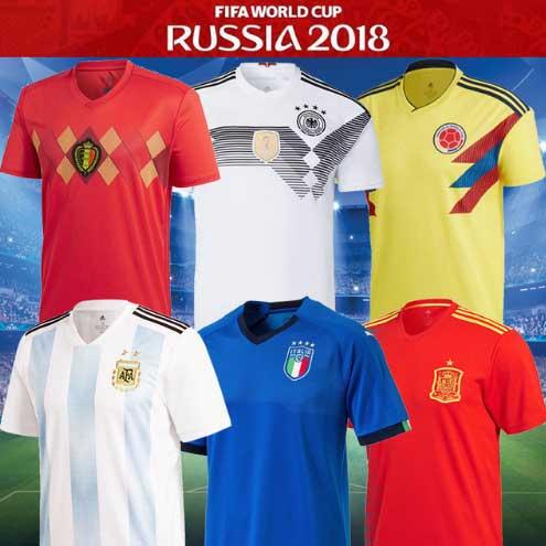 2018 Россия Кубок мира футбольные майки футболка