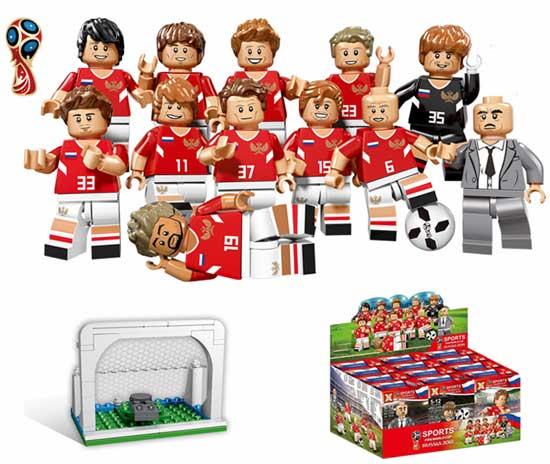 2018 футбольные команды сборная подарочный набор LEGO купить