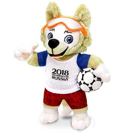 Волк Забивака - талисман ЧМ 2018. Футбол - Чемпионат мира. Купить на АлиЭкспресс