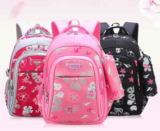 Ортопедический рюкзак для девочек.