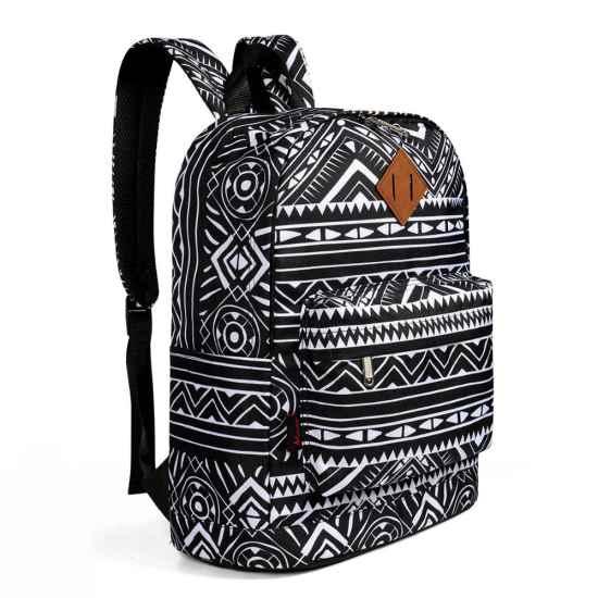 Рюкзак для подростков с винтажным принтом