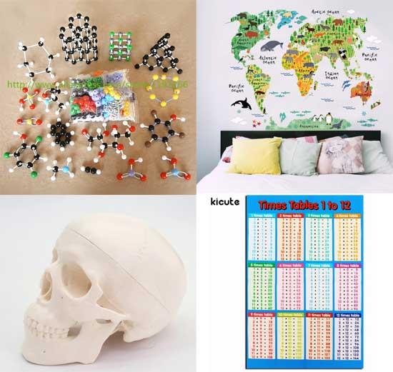 Учебные пособия для школы карты таблицы макеты для физики химии математики