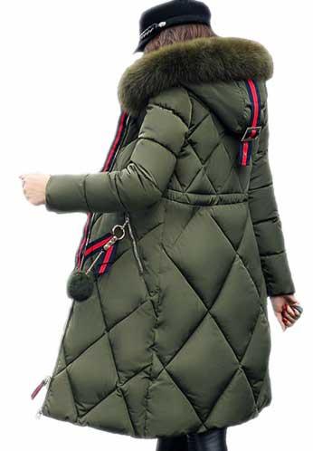 Длинная зимняя куртка для женщин купить на АлиЭкспресс