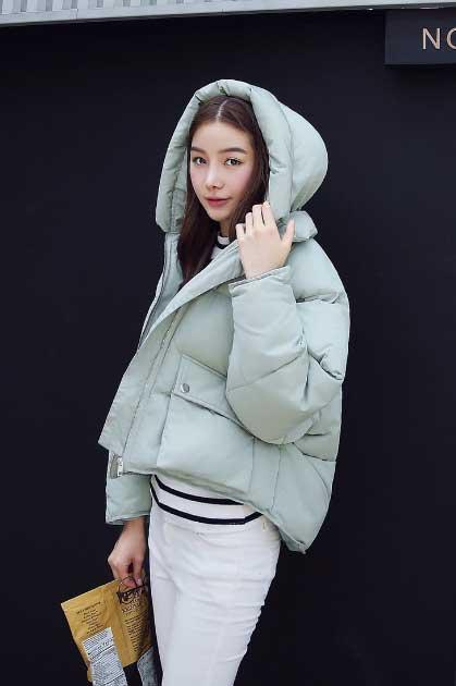 Короткая зимняя куртка 2018-2019