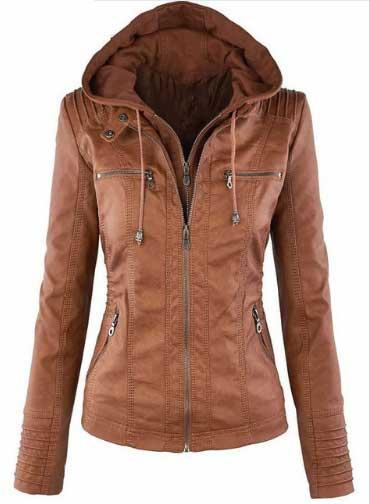 кожаная куртка женская осень 2018 2019 купить на AliExpress