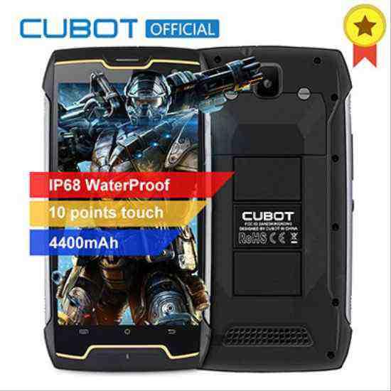 Смартфон Cubot KingKong IP68 не платить налог таможне