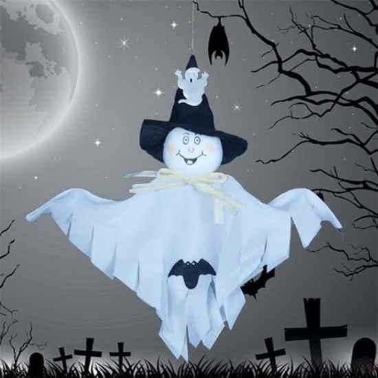 Подвесной призрак привидение для украшения Хеллоуин Алиэкспресс