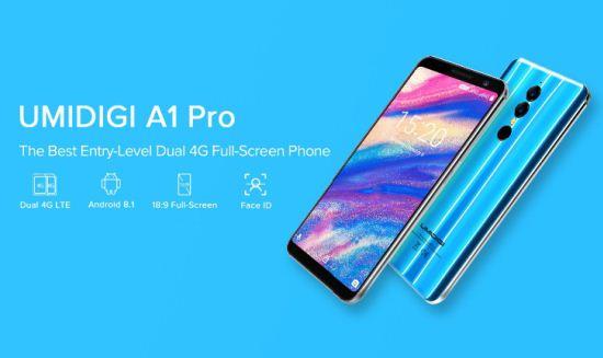 Смартфон Umidigi A1 Pro купить телефон на АлиЭкспресс без растаможки