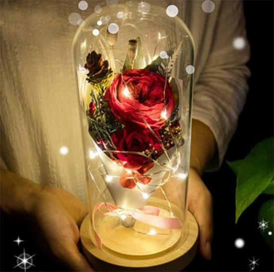LED Beauty Rose подарок для влюбленных