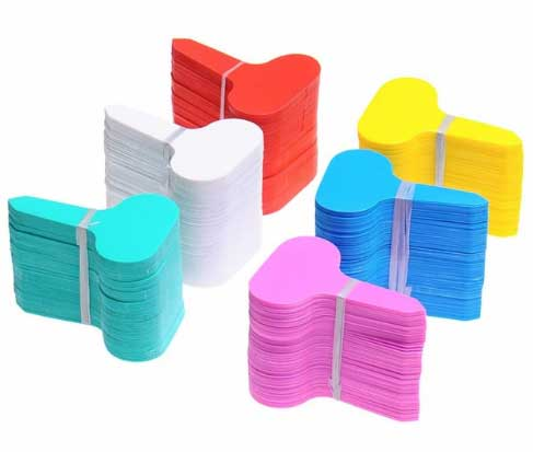 Бирки, колышки, таблички, палочки для маркировки рассады купить на Aliexpress