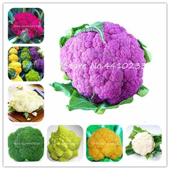 Семена брокколи и цветной капусты. купить на Алиэкспресс