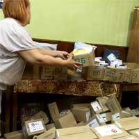 Посылка не отслеживается по Украине