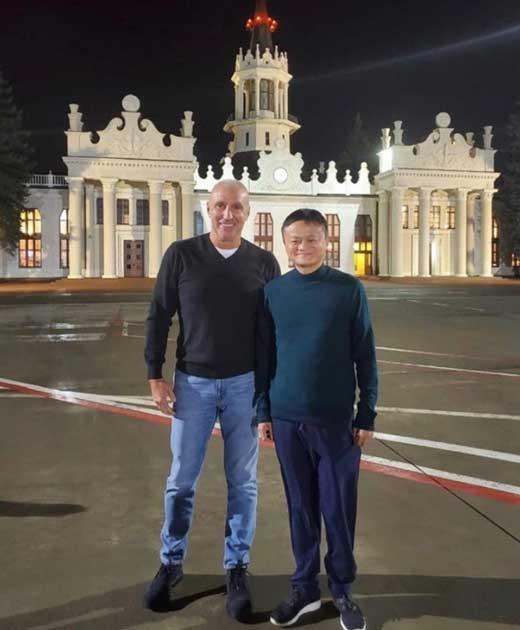 Джек Ма в Украине, Харьков, Киев