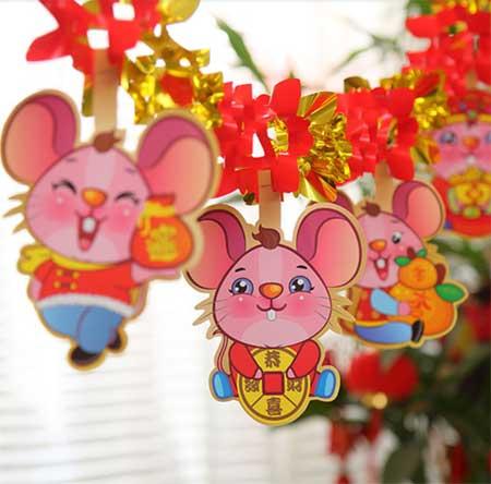 Мышь символ 2020 года в Китае