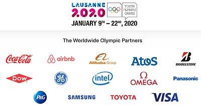 AliExpress Зимние юношеские Олимпийские игры 2020 Спонсоры