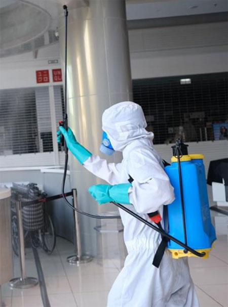 Распылитель против Коронавируса на открытом воздухе спрей дезинфицирующее средство