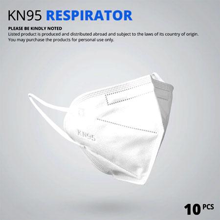 10 шт. Медицинская маска противовирусная KN95 для лица AliExpress