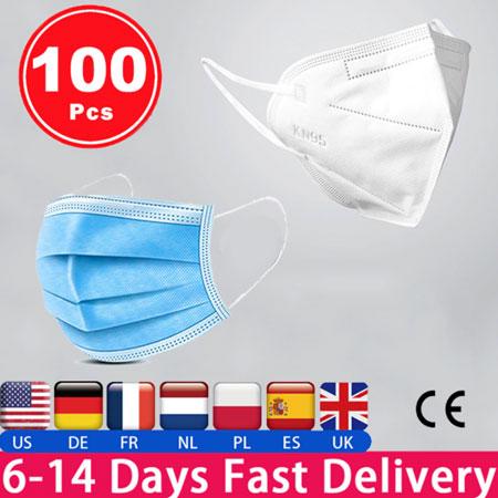 Респиратор Маска FFP3 ffp2 ffp3 Антивирусная маска для лица n95 KF94 3/6 слой Воздухопроницаемая маски хирургическая