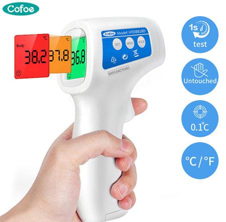 Бесконтактный термометр для тела Инфракрасный термометр Бесконтактный термометр для взрослых и детей