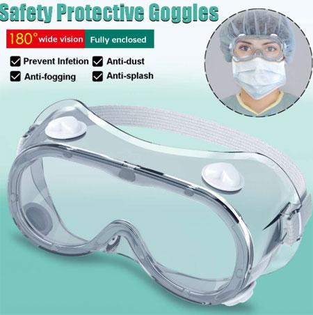 Защитные очки 2 типа Защитные очки Широкий обзор. Предотвращают инфекцию, маски для глаз Очки от брызг