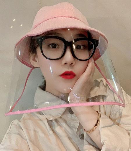 2020 New Kids панама шляпа анти Коронавирус с широкими прозрачными полями купить на aliexpress