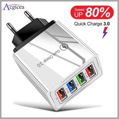 Зарядное устройство USB 3,0 на Алиэкспресс