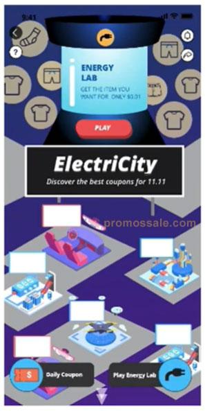Игры в дни распродажи Алиэкспресс 11.11 ElectriCity