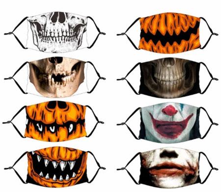 Хэллоуин Декор Светящаяся маска для вечеринки