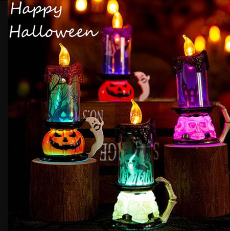 Подсвечник для украшения Хэллоуина