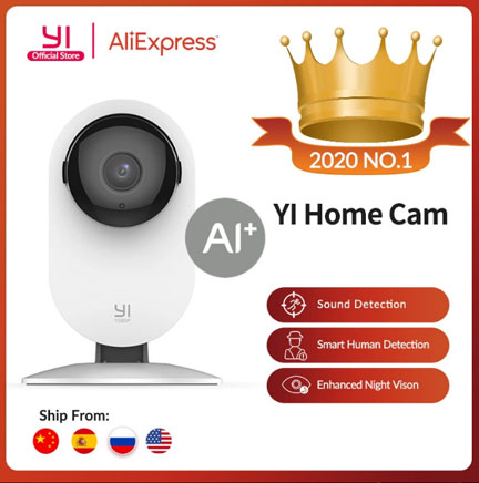 Домашняя камера YI 1080p Home Camera Алиэкспресс