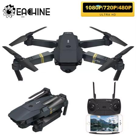 Дрон Eachine E58 WIFI FPV с широкоугольной HD 1080P/720P/480P камерой