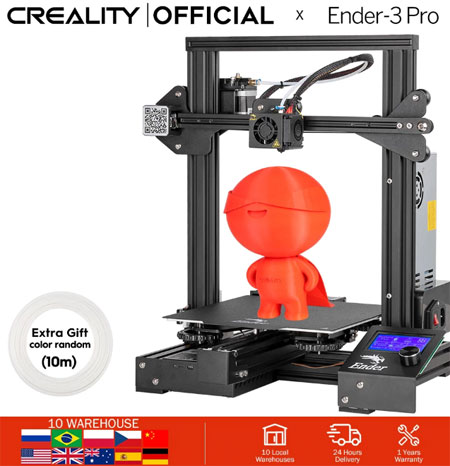3D Ender-3 профессиональный принтер купить на AliExpress
