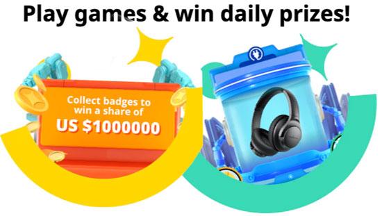 Играйте и выигрывайте призы каждый день